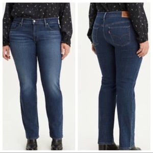 Levi's 314 Shaping Straight High Rise Jeans NWT